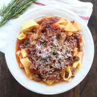 Slow Cooked Beef Ragu