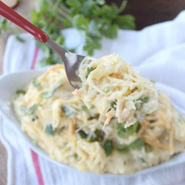 Jalapeño Popper Spaghetti Squash