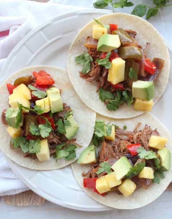 Slow Cooked Tri Tip Tacos