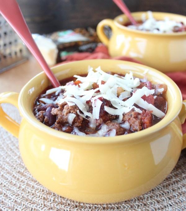 Chipotle Stout Crock Pot Chili