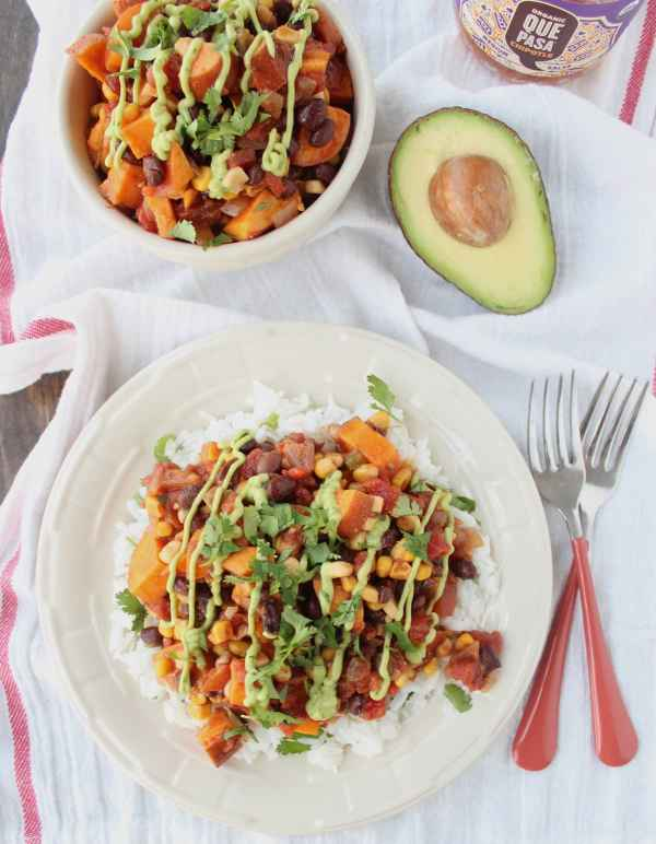 Vegan Chipotle Sweet Potato Casserole