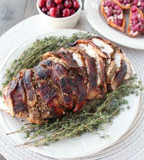 Gluten Free Bacon Wrapped Turkey Recipe
