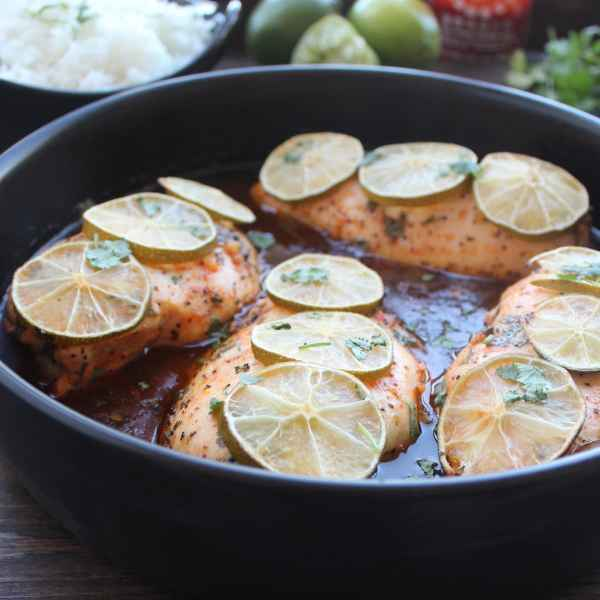 Gluten Free Sriracha Lime Baked Chicken Recipe