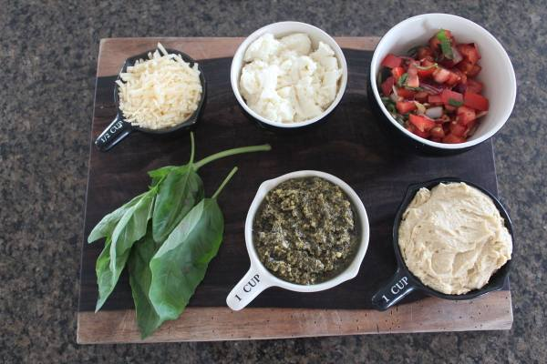 Italian 5 Layer Dip Ingredients
