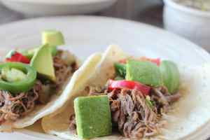 Slow Cooked Beef Barbacoa Tacos