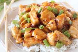 Gluten Free Honey Chicken Recipe