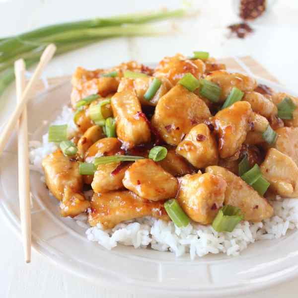 Gluten Free Honey Chicken Recipe
