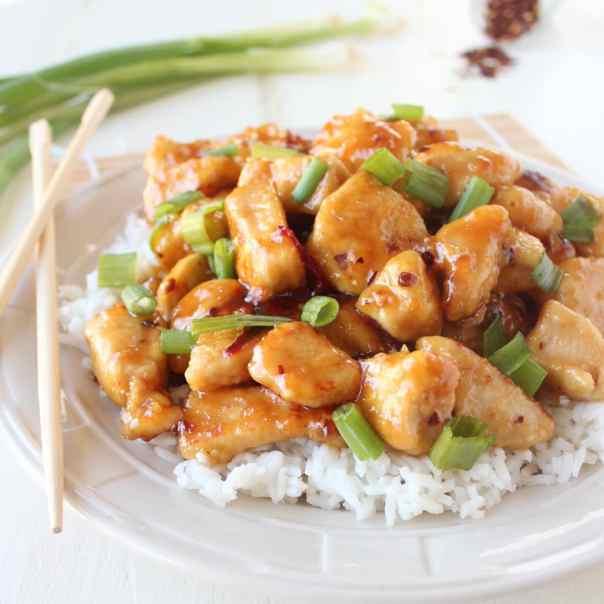 Gluten Free Chinese Honey Chicken
