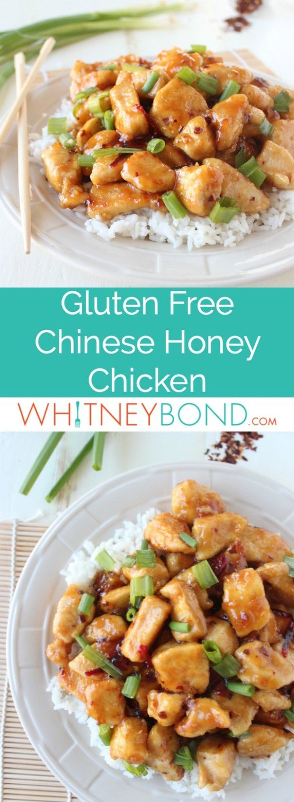 Gluten free chinese honey chicken recipe whitneybond dont forget to pin this scrumptious gluten free chinese honey chicken recipe forumfinder Image collections