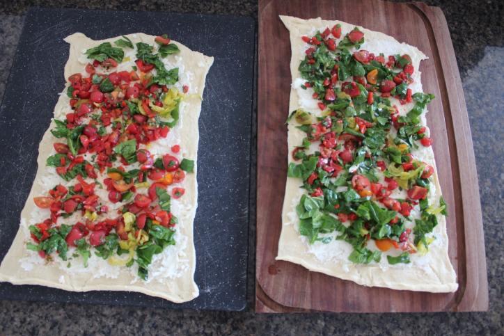 Cheesy Veggie Pizza Rolls Recipe