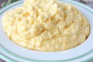Creamy Cheesy Polenta Recipe