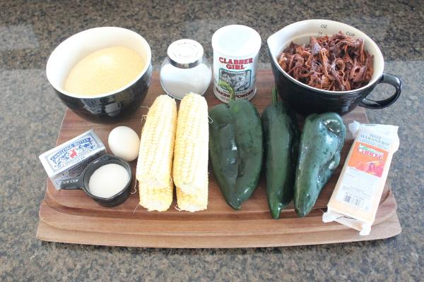 Pulled Pork Tamale Casserole Ingredients