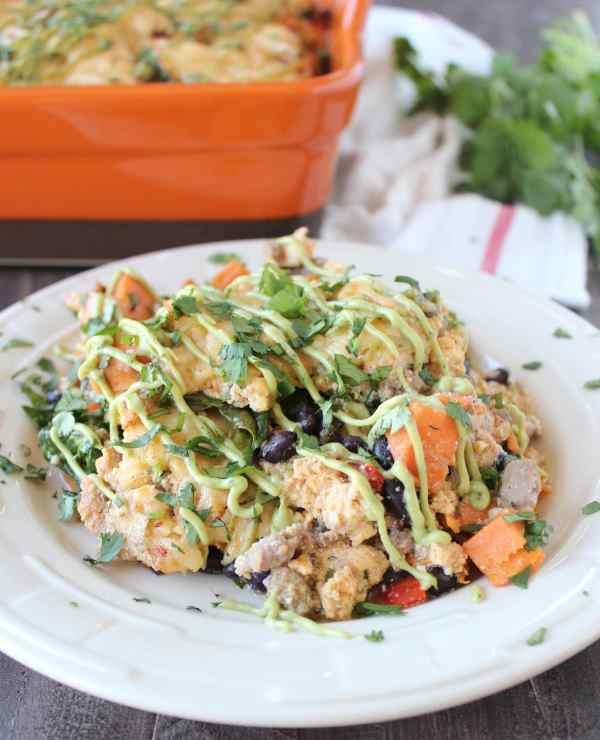 Gluten Free Mexican Breakfast Casserole