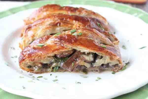 Mushroom Spinach Puff Pastry Recipe