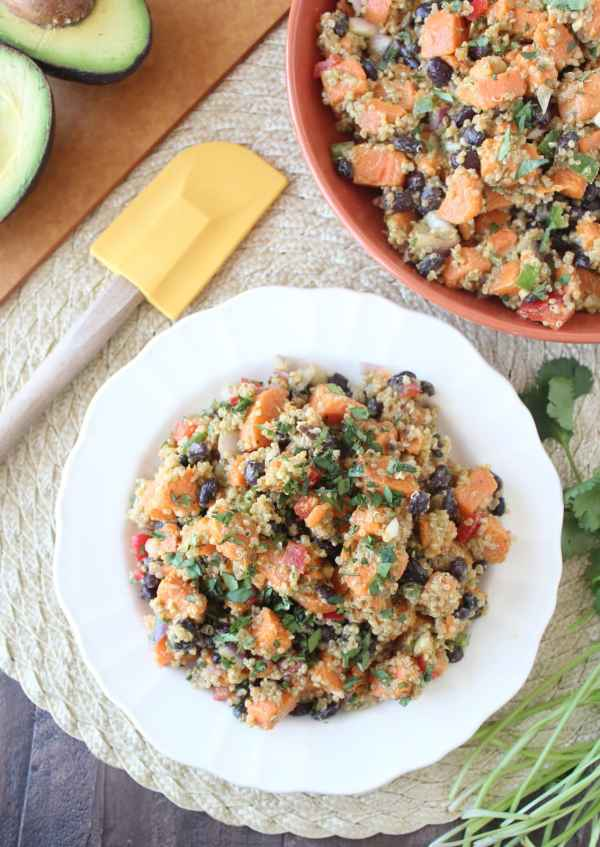 Gluten Free Mexican Sweet Potato Salad Recipe
