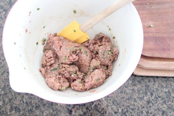 Bruschetta Turkey Burger Recipe