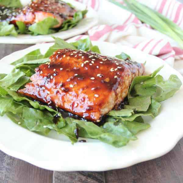 Korean BBQ Grilled Salmon Recipe