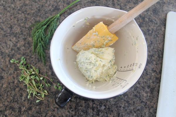 Lemon Herb Compound Butter Recipe