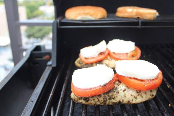 Caprese Grilled Chicken Sandwich Recipe