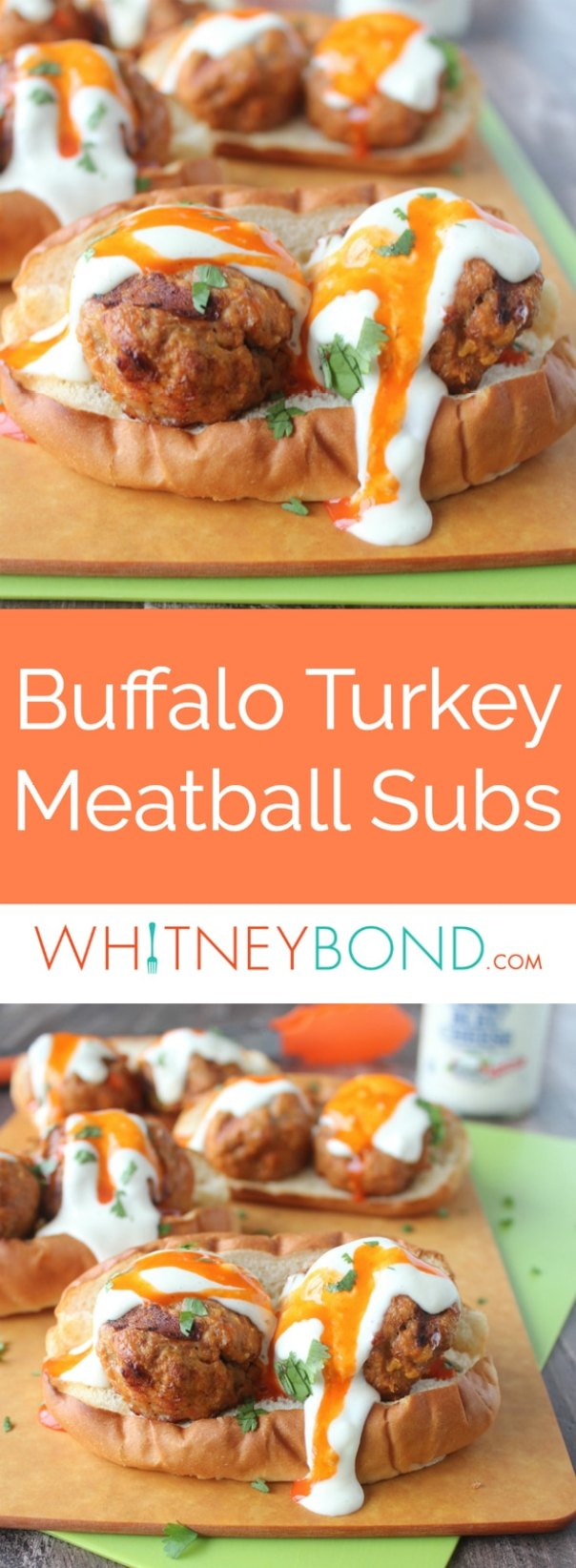 Turkey Meatballs Sub Sandwich With Buffalo Sauce Whitneybond Com