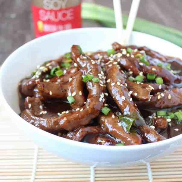 Korean BBQ Beef & Noodle Bowl