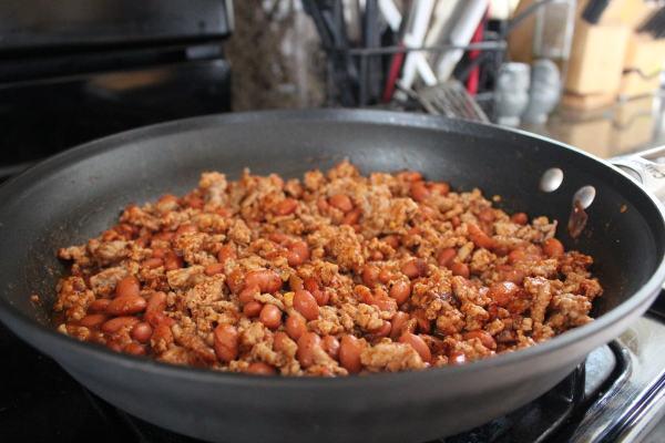 Turkey Chili Spaghetti Squash Recipe