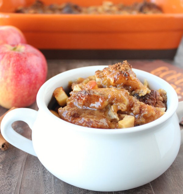 Caramel Apple Bread Pudding Recipe
