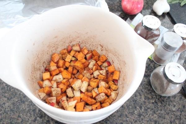 Butternut Squash Apple Bruschetta Recipe