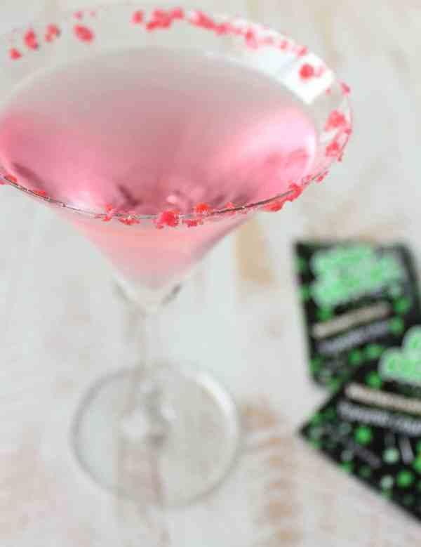 Pop Rocks Watermelon Martini Recipe