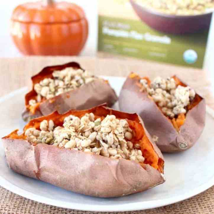 Breakfast Stuffed Sweet Potatoes Recipe