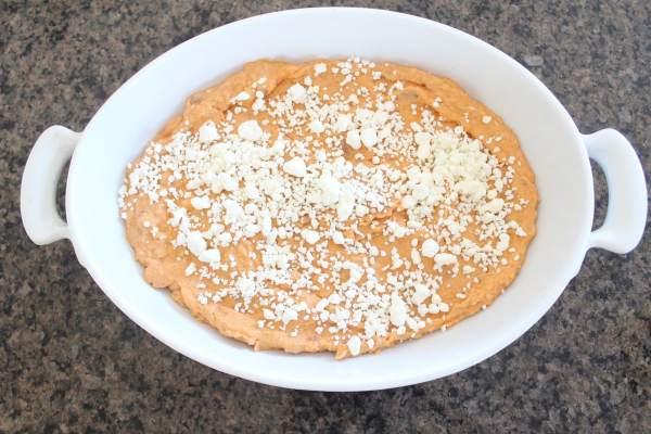Baked Sweet Potato and Three Cheese Dip Recipe