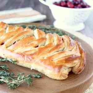 Cranberry Turkey Puff Pastry