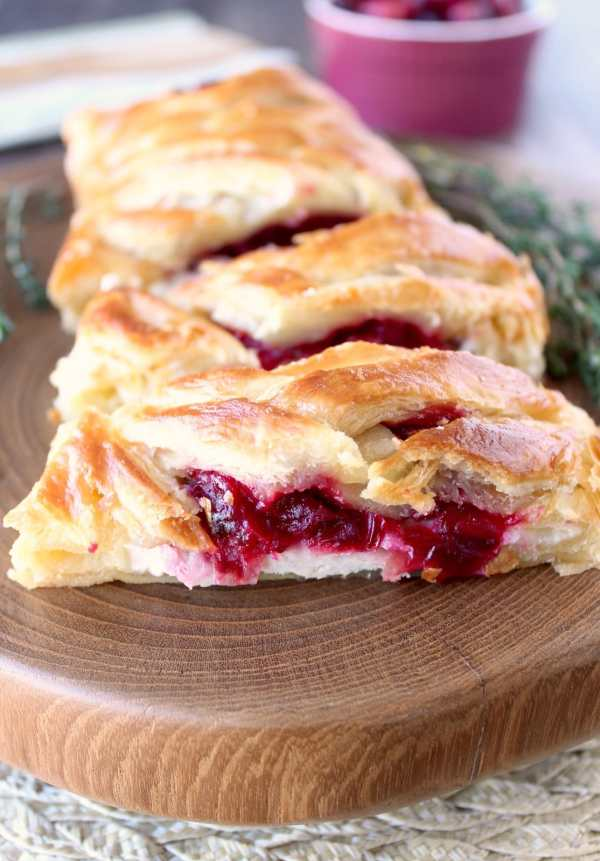 Cranberry Turkey Puff Pastry Recipe - WhitneyBond.com