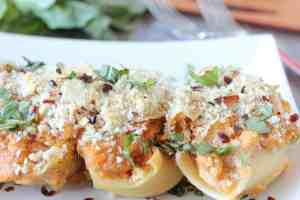 Sweet Potato Ricotta Stuffed Shells Recipe