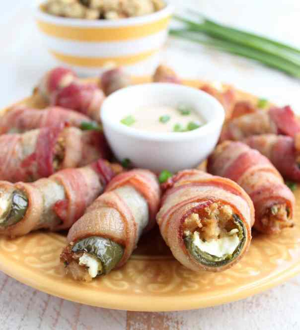 Cream Cheese Stuffing Jalapeno Poppers