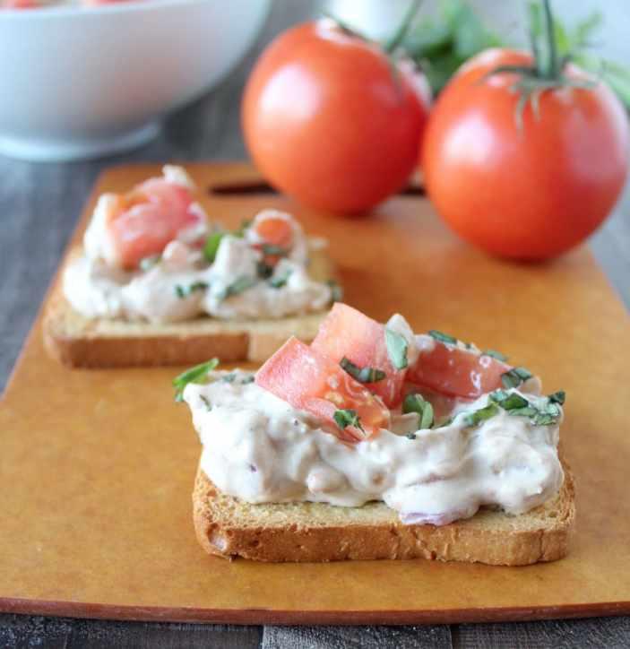 Bruschetta Cheese Dip Recipe