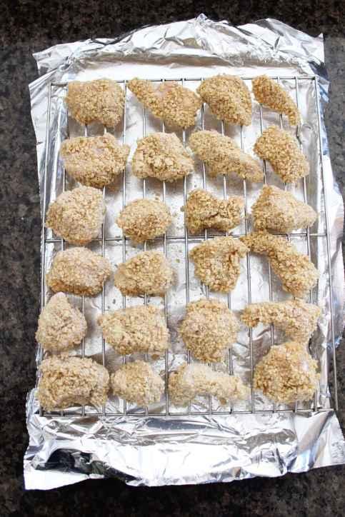 Chipotle Honey Baked Boneless Wings Recipe