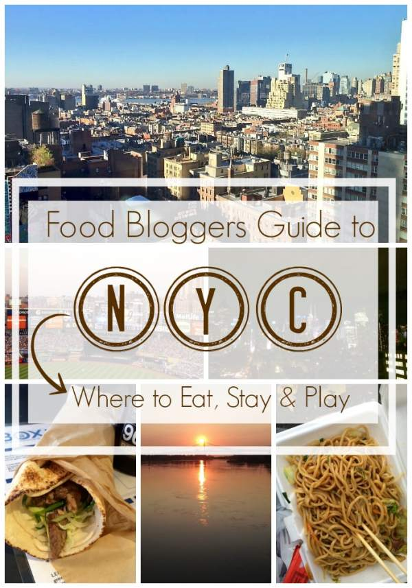Food Bloggers Guide to NYC