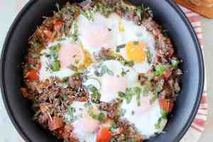 Turkey Sausage & Egg Breakfast Skillet Recipe