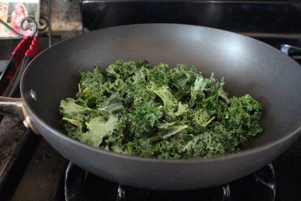 Garlic Kale Vegan Mashed Potatoes Recipe