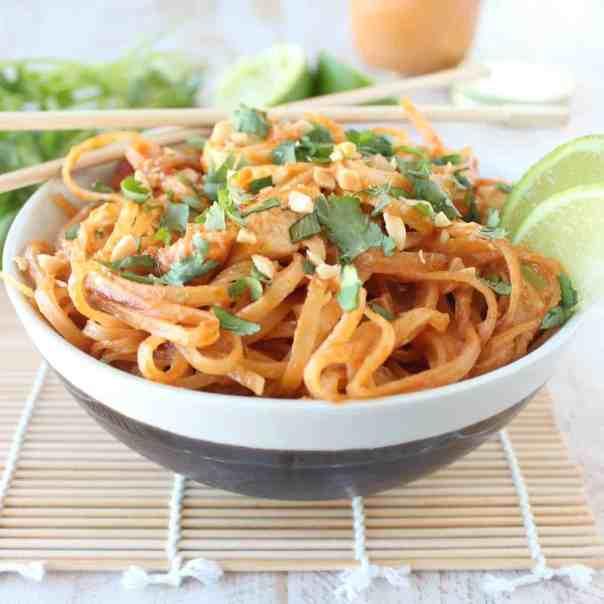 Thai Peanut Chicken Stir Fry