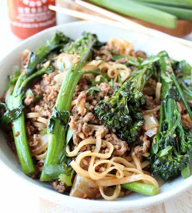 Chinese Beef and Broccoli Stir Fry