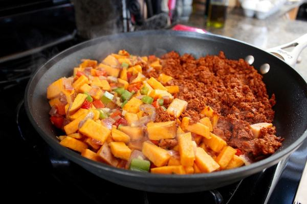 Mexican Sweet Potato Hash Recipe