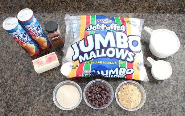 S'Mores Cinnamon Rolls Recipe