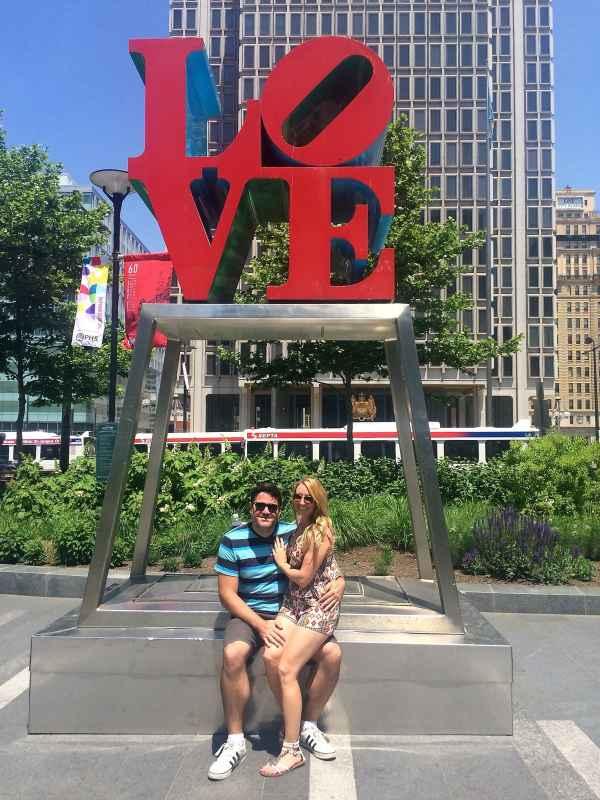 LOVE Sign in Philadelphia