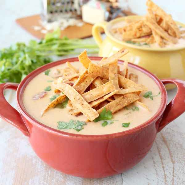 Cheesy Turkey Taco Soup Recipe