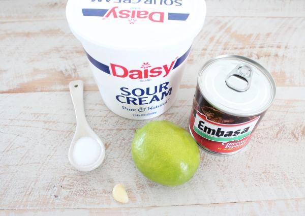 Chipotle Cream Sauce Recipe Ingredients