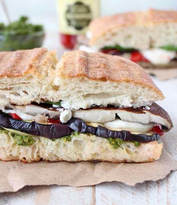 Vegetarian Italian Panini Recipe