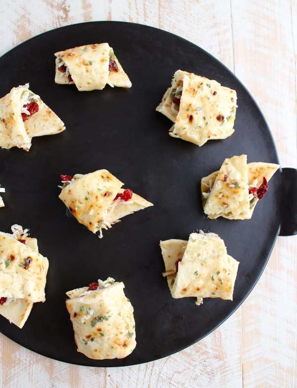 Naan Pizza Rolls Recipe