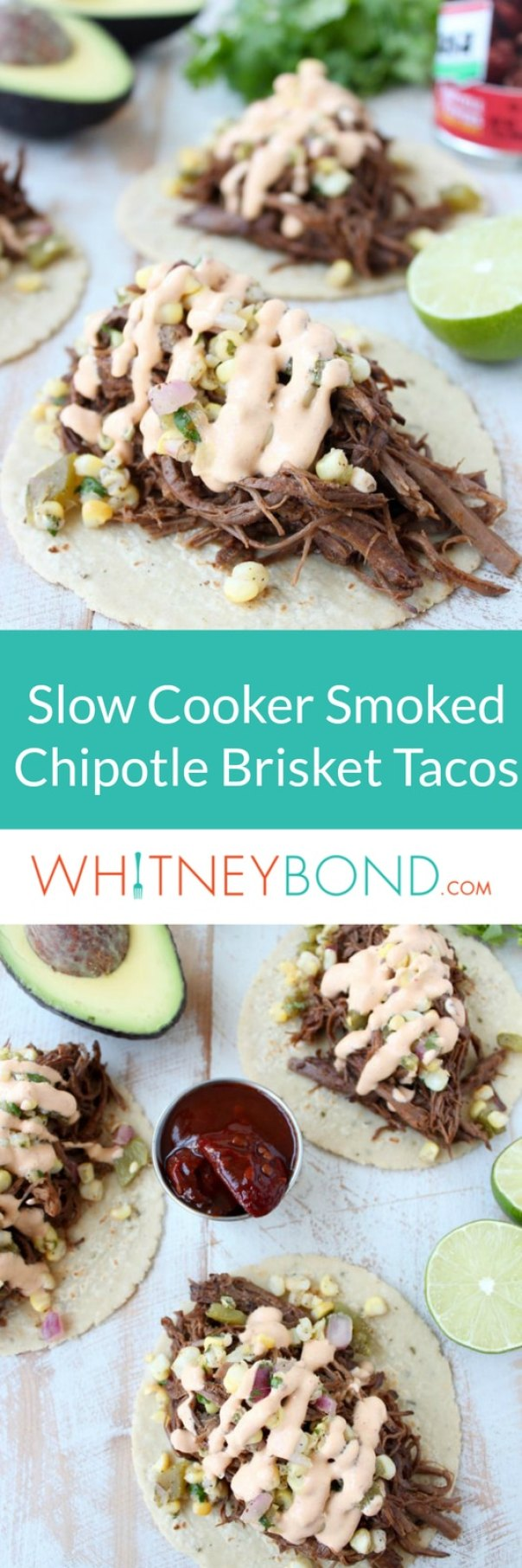 Smoked Chipotle Brisket Tacos Recipe